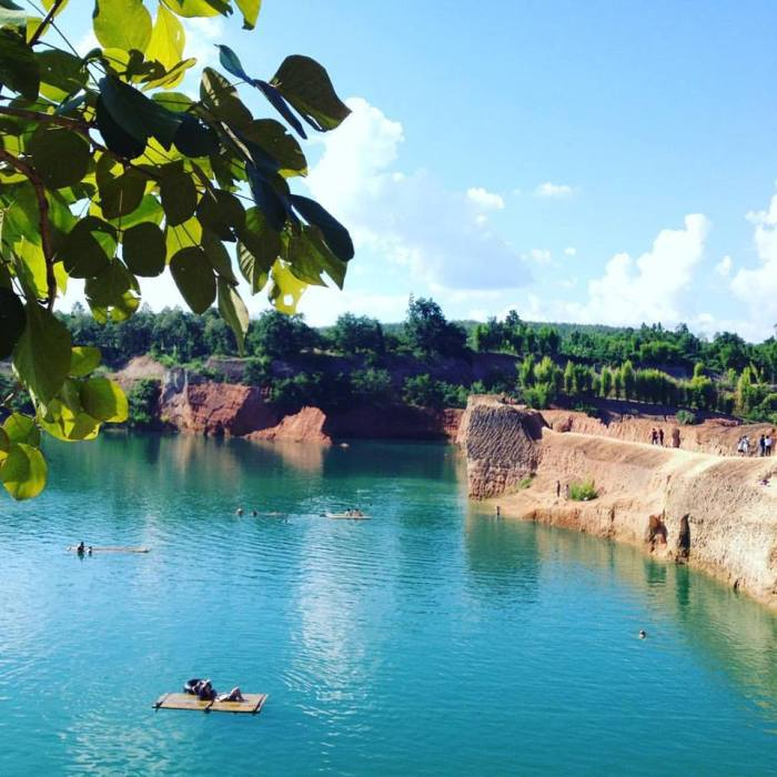 Grand Canyon of Chiang Mai. Cliff jumping! Photo Credit: Adam Greenberg